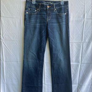 American Eagle blue jeans Favorite boyfriend Sz 8